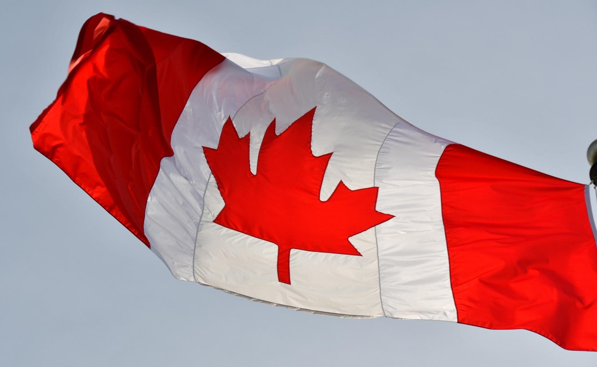 カナダでの国際結婚率_カナダ国旗
