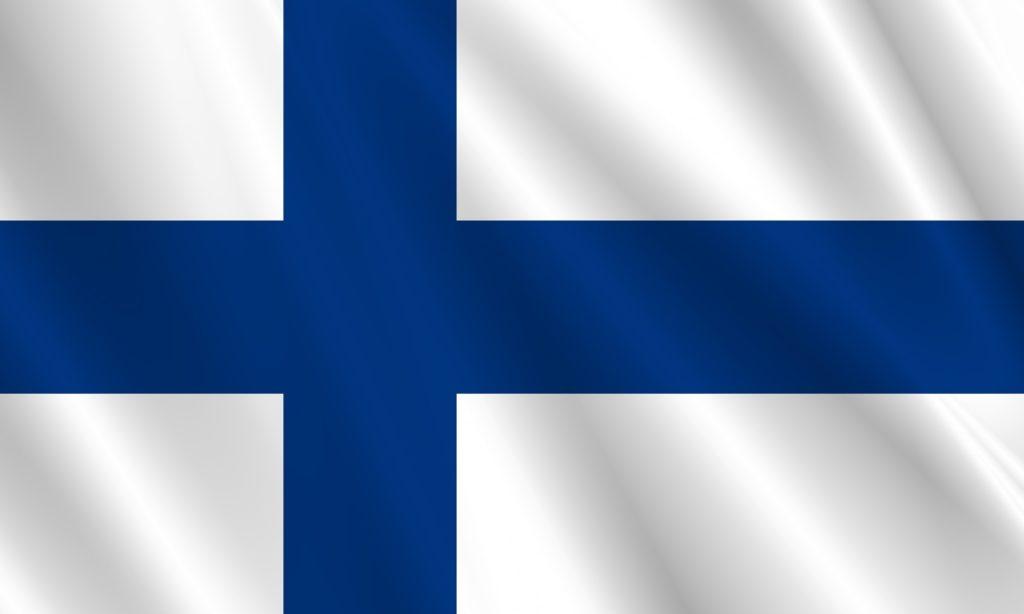 サウナ発祥の地フィンランド_フィンランドの国旗