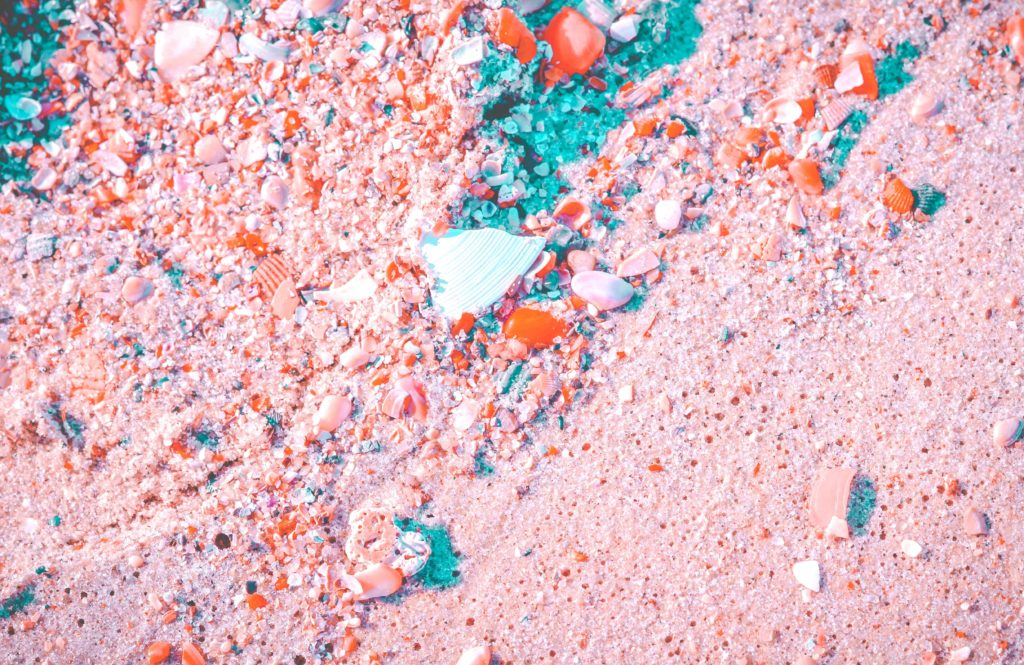 バハマ_ピンクサンドビーチ_pink_sand_beach_砂