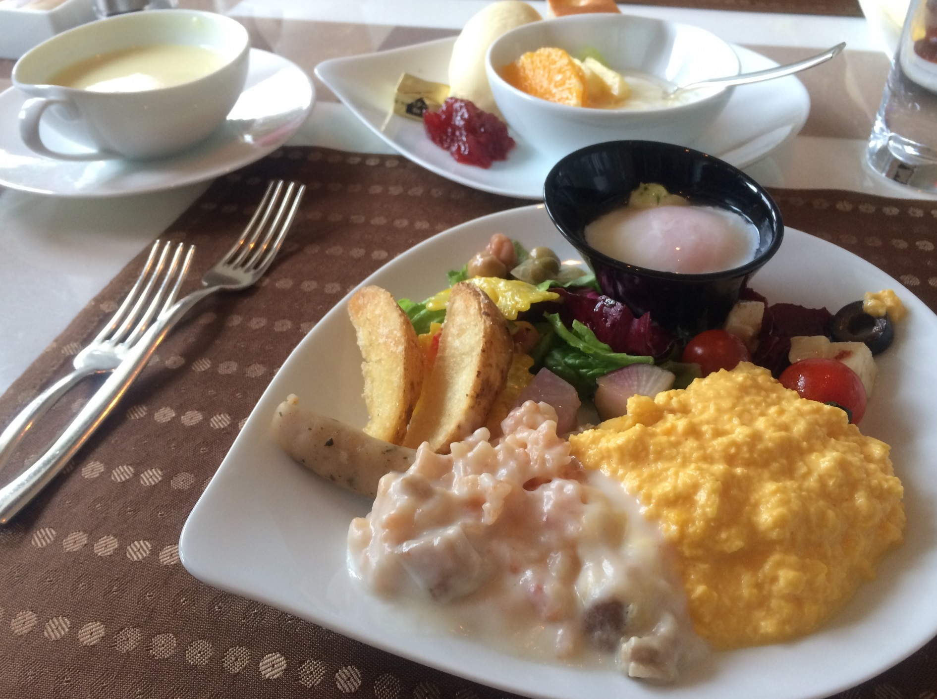 ビッグブレックファースト_ニュージーランドの朝食_スクランブル