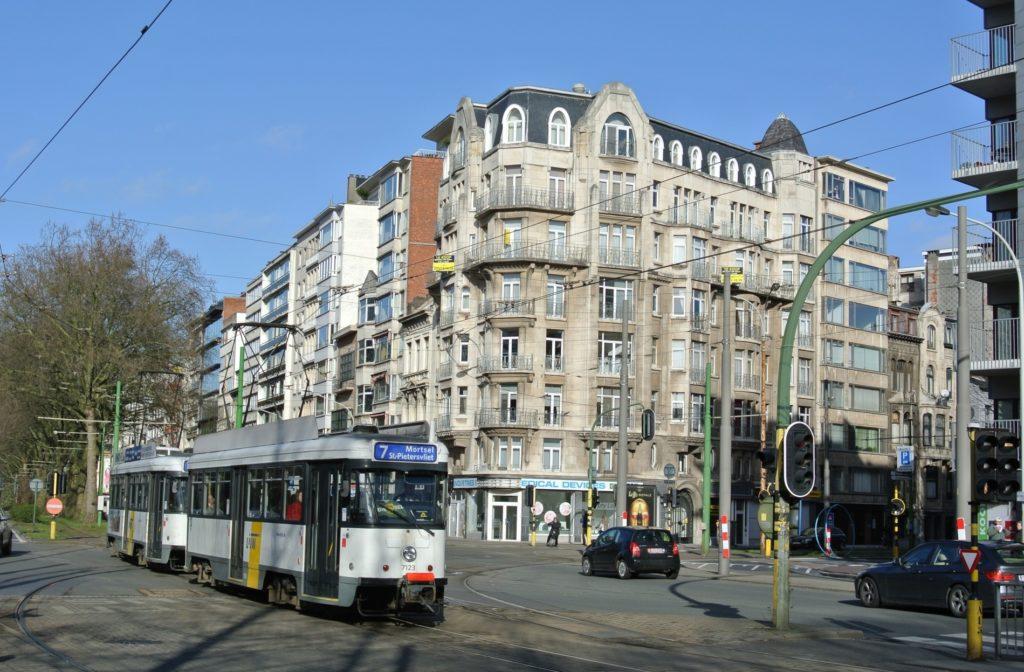 ベルギー_アントワープ中央駅_街並みと風景