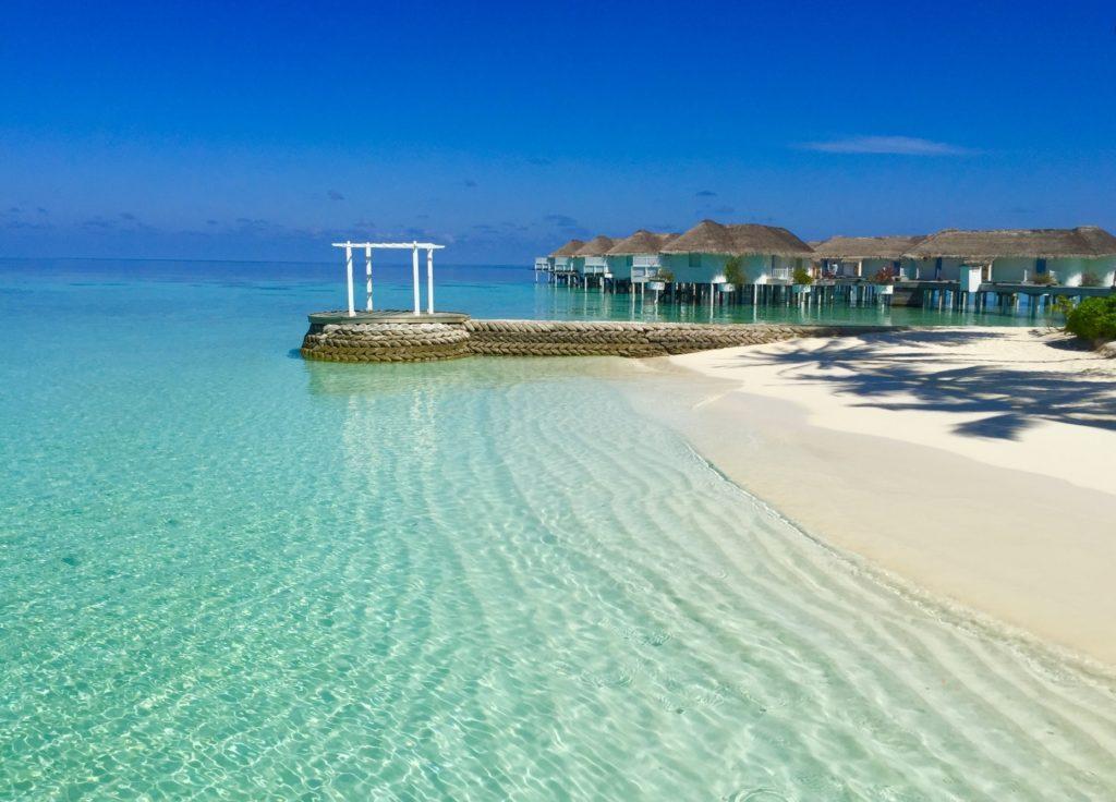 モルディブ_海の風景