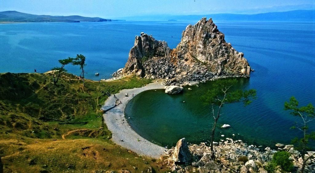 ロシア__シベリア_バイカル湖_自然の風景