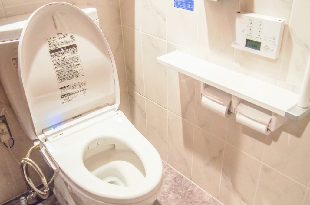 日本が世界で一番トイレがきれい