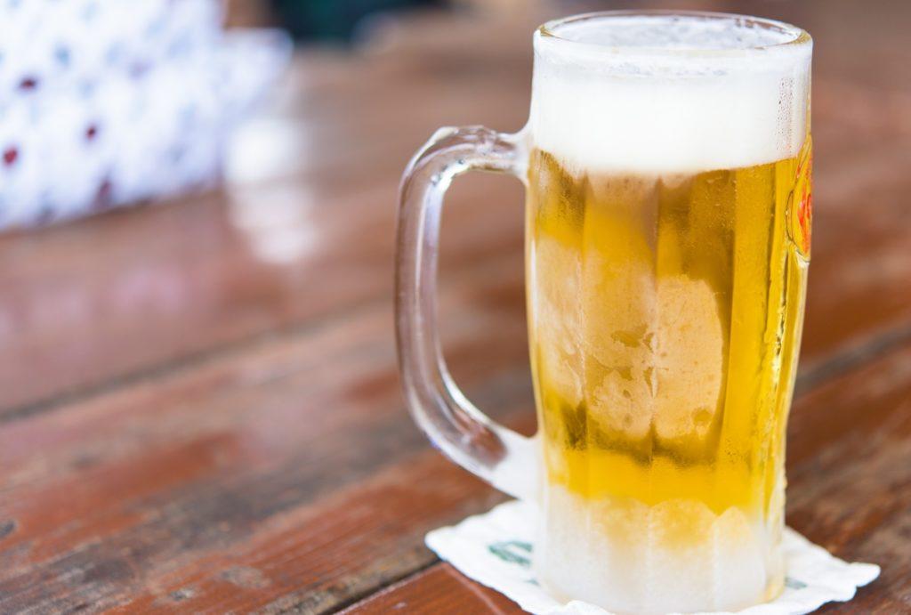 飲んだあとのラーメンは美味い_ビール