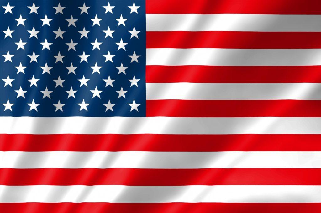 LAファッション_ロサンゼルス_アメリカ国旗